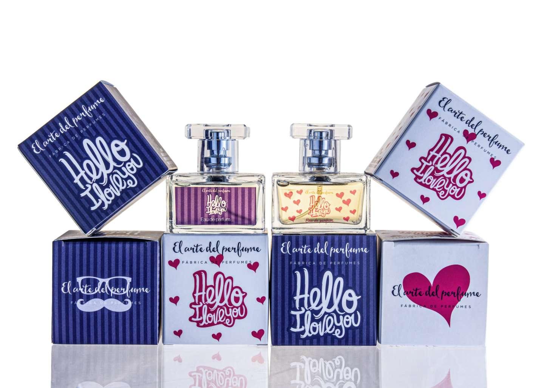 Gama perfumes Hello i love you 1