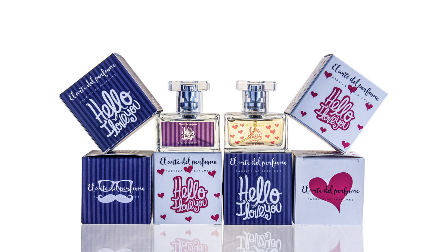 Gama perfumes Hello i love you